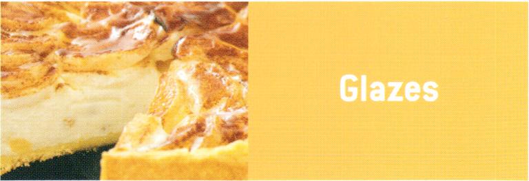 pectin-Glaze
